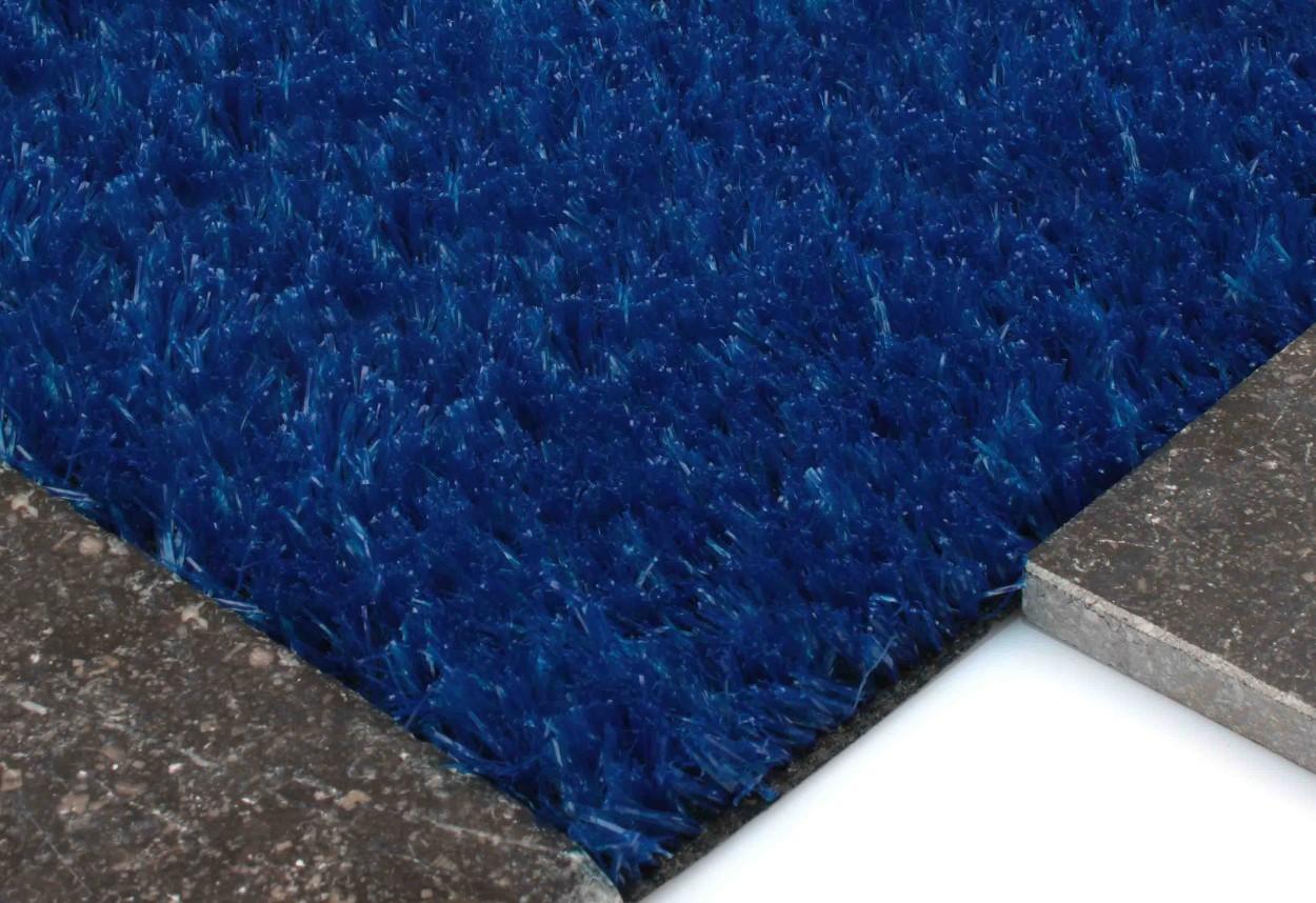 Kunstgras Spela Blauw